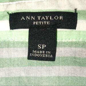 Ann Taylor Tops - Ann Taylor Stripe Blouse